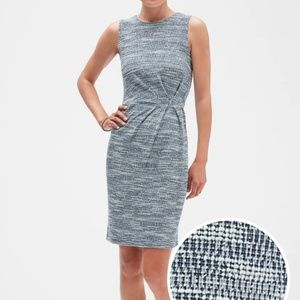 Banana republic Knit fitted dress